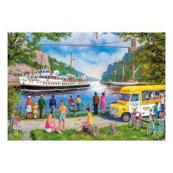 Clifton Bridge, Bristol 500 Piece Jigsaw Puzzle