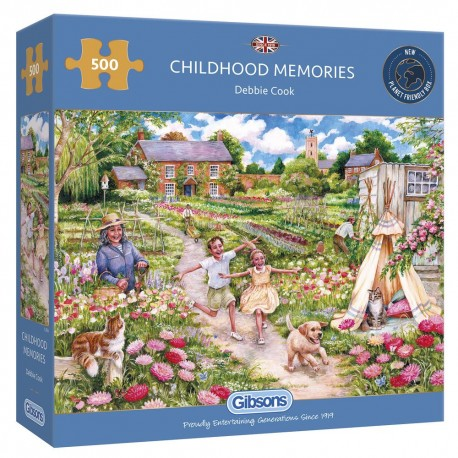 Childhood Memories 500 Pieces Jigsaw Puzzle