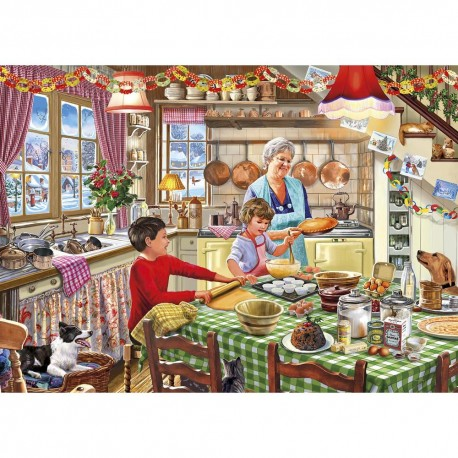 Christmas Treats Puzzle (500 XL pieces