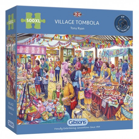 Gibsons Village Tombola 500XL Pieces