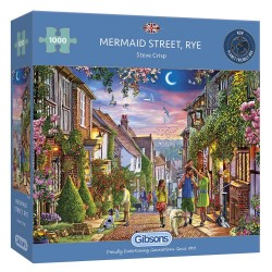 Mermaid Street 1000 Piece Jigsaw Puzzle