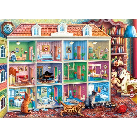 Curious Kittens 1000pc Jigsaw Puzzles