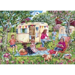 Caravan Escapes 1000 Piece Jigsaw Puzzle
