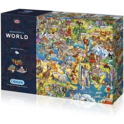 Wonderful World 1000 piece puzzle Maria Rabinsky