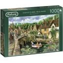 Castle Combe, Wiltshire 1000 Piece Jigsaw Puzzle