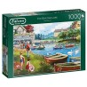 The Boating Lake 1000 piece Puzzle