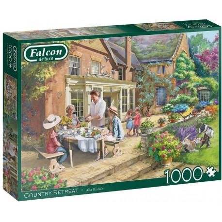 Country Retreat 1000 Piece Jigsaw Puzzle