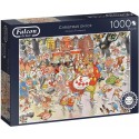 Christmas on Ice 1000 Piece Jigsaw Puzzle