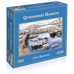 Queensferry Harbour 1,000 piece jigsaw puzzle