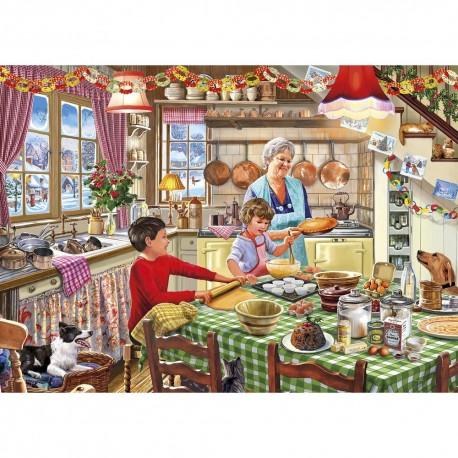 Christmas Treats 1000 piece jigsaw puzzle.