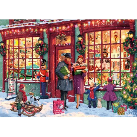 Christmas Toy Shop Jigsaw Puzzle (1000 piece)