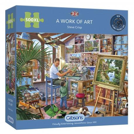 A Work Of Art - 500XL Pieces