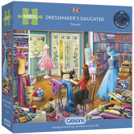 Dressmaker's Daughter 500XL Piece Jigsaw Puzzle