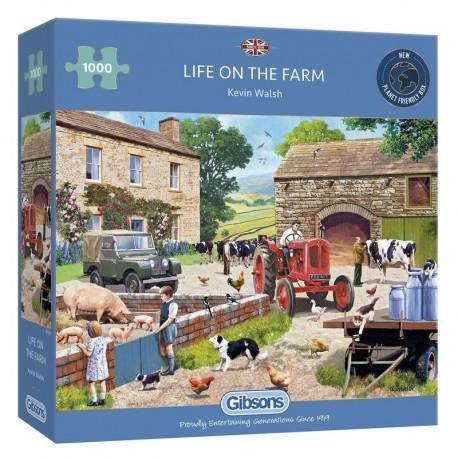 Life on the Farm 1000 Piece Jigsaw Puzzle