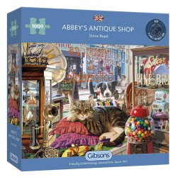 Abbey's Antique Shop 1000 Piece Jigsaw Puzzle