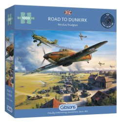 Road to Dunkirk - 1000pc Jigsaw Puzzles