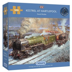 Kestrel at Hartlepool 500 Piece Jigsaw Puzzle