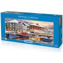 Gibsons Padstow in Winter Jigsaw Puzzle, 636 piece