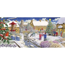 Gibsons Robin's Watch Jigsaw Puzzle, 636 pieces