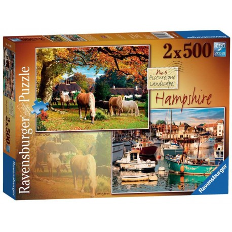 Hampshire 2x500 Piece Jigsaw
