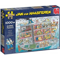 Jan van Haasteren-Cruise Ship 1000 piece Jigsaw Puzzle