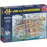 Jan van Haasteren-Cruise Ship 1000 piece Jigsaw Puzzle