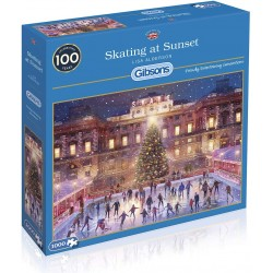 Gibsons Skating at Sunset Jigsaw Puzzle, 1000 Pieces