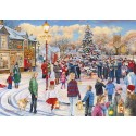 Gibsons Christmas Chorus Jigsaw Puzzle, 1000 Pieces