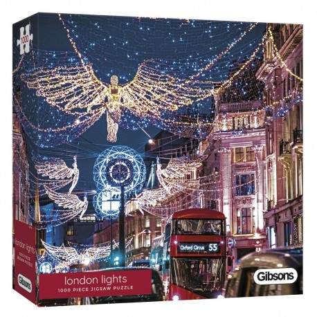 London Lights Contemporary Jigsaw Puzzle, 1000 Pieces