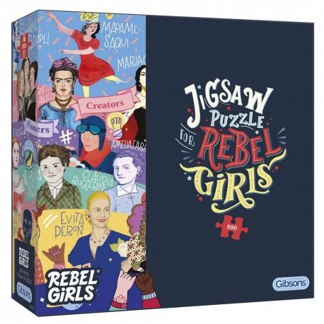 Gibsons Rebel Girls 500 Piece Jigsaw Puzzle