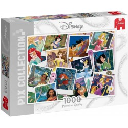 Disney Princess Selfies 1000 Piece Jigsaw Puzzle