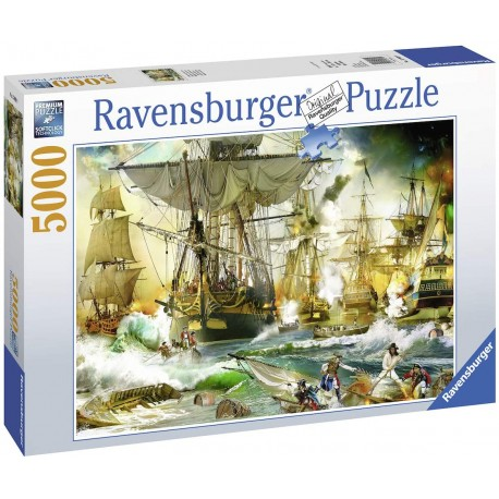 Battle on the High Seas, 5000pc Jigsaw puzzle