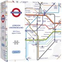 Gibsons TFL London Underground Map 1000 Piece Jigsaw Puzzle