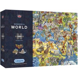Wonderful World 2000 Piece Jjigsaw Puzzle