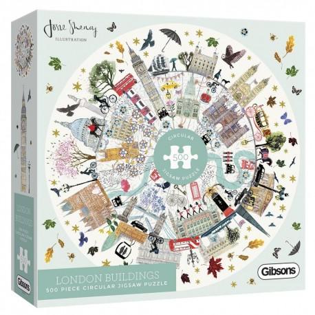 London Buildings Gibson 500 piece jigsaw