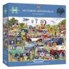 Motoring Memorabilia 1000 Piece Jigsaw Puzzle