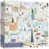 Gibsons White Logo Collection Map of London 1000 Piece Jigsaw Puzzle