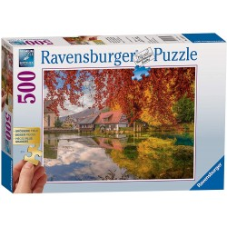 Peaceful Mill 500 Piece Jigsaw Puzzle