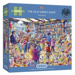The Old Sweet Shop 500 Extra Large Piece Jigsaw Puzzle