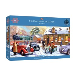 Christmas Eve At The Station 636 Piece Jigsaw Puzzle