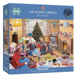 The Queens Speech 1000 Piece Jigsaw Puzzle