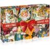 Christmas Festive Fun 1000 Piece Jigsaw