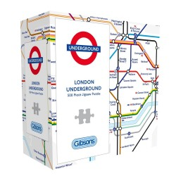 Gibsons TFL London Underground Map Jigsaw Puzzle