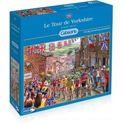 Gibsons Le Tour de Yorkshire 1000 Piece Jigsaw Puzzle