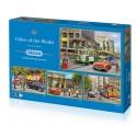 Cities of the World 4x500 Jigsaw