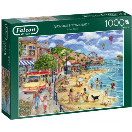 Seaside Promenade 1000 Piece Jigsaw Puzzle