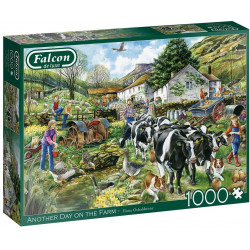 Another Day on the Farm 1000 piece Jigsaw Puzzle