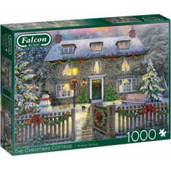 The Christmas Cottage 1000 Piece Jigsaw Puzzle
