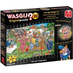 Jumbo 19170 Wasgij Original 32-The Big Weigh In 1000 Piece Jigsaw Puzzle