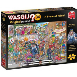 Jumbo Wasgij Original 34 A Piece of Pride 1000 Piece Jigsaw